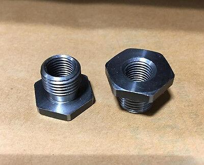 2pc Jacobs 12-20 Male X 38-24 Ft Drill Chuck Adapter Convertor Lot La8040