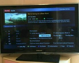"37"" Black Samsung TV perfect working order"