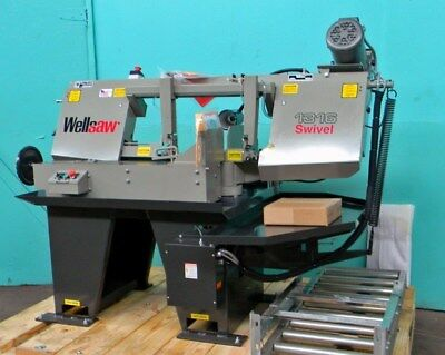 Wellsaw 13 Swivel Head Mitering Metal Cutting Band Saw Model 1316s New