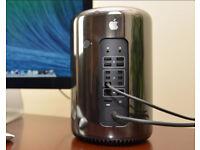 Mac Pro (Late 2013) 3.5Ghz 6 Core intel Xeon 12Gb Ram 250Gb Flash Drive