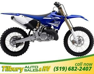 2017 Yamaha YZ250 249cc, light weight, compact engine.