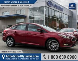 2015 Ford Focus SE BC OWNED & GREAT CONDITION