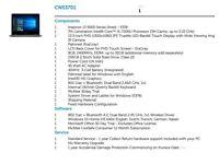 Dell Inspiron 13 5000 Series 2 in 1 laptop, 7th Generation Intel® Core™ i5-7200U Processor