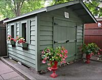 Gorgeous Garden Sheds!! MUST SEE!!
