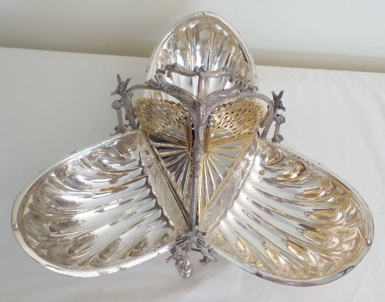 Antique English Silver Bun Warmer