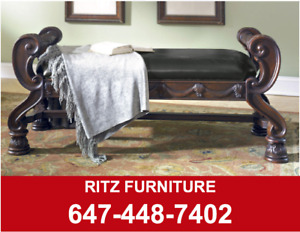 OTTOMAN AND CHAIR SALE