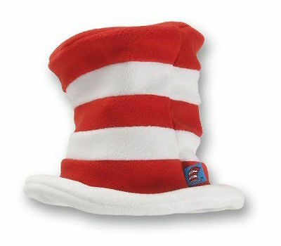 Cat In The Hat Fleece Top Hat Dr Seuss Preschool Child Size elope Halloween](Cat In The Hat Top Hat)
