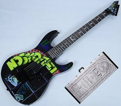 ESP LTD KH-NOSFERATU Kirk Hammett Limited Edition Guitar With Case. Brand new!
