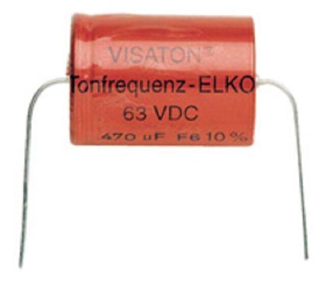 Visaton TONFREQUENZ-ELKO RAUH 330 µF/63VDC