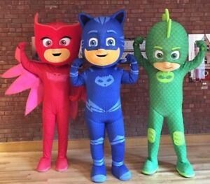 PJ Masks, Troll Birthday Mascots & MORE !