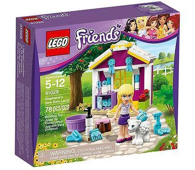 - LEGO Friends set 41029 Stephanie's New Born Lamb mini doll with bath NEW!
