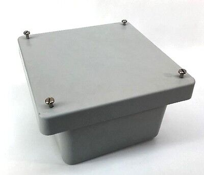Allied Moulded Am664 Wall-mounted Non-metallic Enclosure 6x6x4