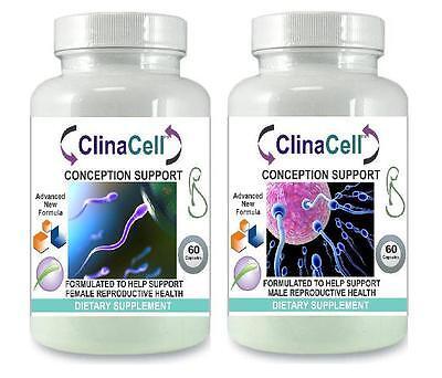 Male Female Fertility Pills Pregnancy Sperm Volume Ovulation Conception  Support