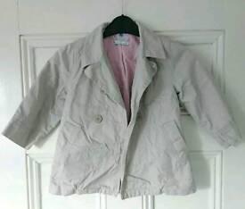 Petit Bateau Girls Coat/Jacket, Age 3/94cm.