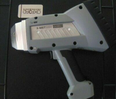 Oxford X-met 5000 Xrf Alloy Mining Ore Rohs Analyzer Pmi Gun Xray Spectrometer
