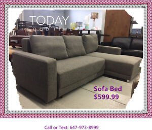 BIG SALE-Brand new-Modern Sectional sofa /Bed $599 - $599