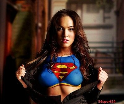 Megan Fox American Actress And Model Glossy 8 X 10 Photo