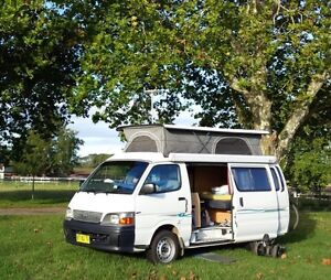 2003 Toyota Hiace Campervan. Bellevue Hill Eastern Suburbs Preview