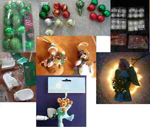 Christmas Ornaments or Tree Topper - Several To Choose From