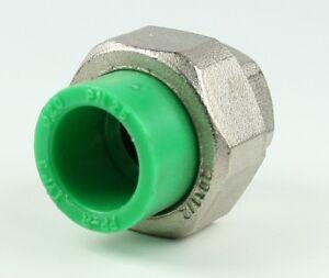Aqua-plus-PPR-Ajuste-Del-Embrague-20mm-x-IG-1-2-pulgadas-Conducto-de-agua