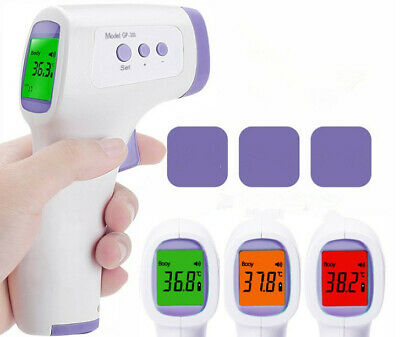 Termometro Digital Infrarrojo Laser Sin Contacto Para Adultos Ninos Bebes minia