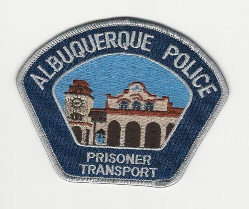 Albuquerque Police Prisioner Transport State New Mexico NM