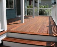 HIRE ME TO STAIN YOUR DECK---I KNOW STAIN