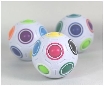 Ball 360 Puzzleball Cubo Rubik Kinder Spielzeug Geschenk neu (Rainbow Magic)