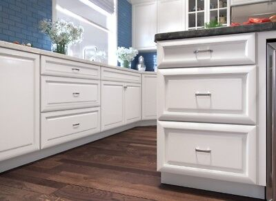 Forever Mark Kitchen Cabinets K-White Gold Collection All Wood Sale KW6