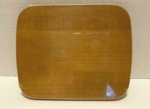 Longaberger WoodCrafts TV Time Lid Warm Brown New 5046700