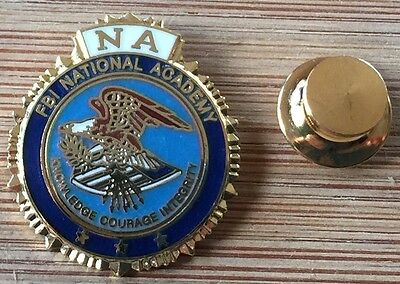 FBI - Federal Bureau of Investigation - National Academy - lapel pin