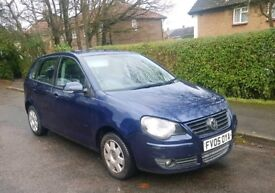 ** Volkswagen Polo 1.2 low mileage **