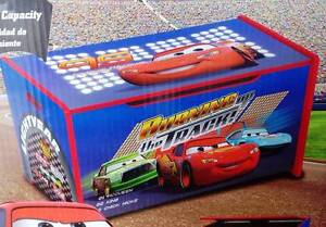 Disney Cars McQueen Wooden Toy Box - NEW in box Chadstone Monash Area Preview