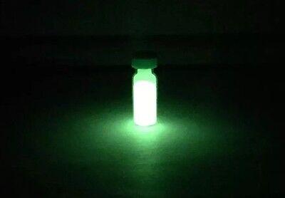 Green Europium phosphorescent glow in the dark Powder - Chemistry Sample](Glow In The Dark Green)