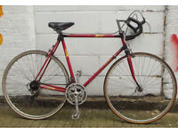 Vintage racing bike from France student commuter new brakes, tyres, serviced - Welcome