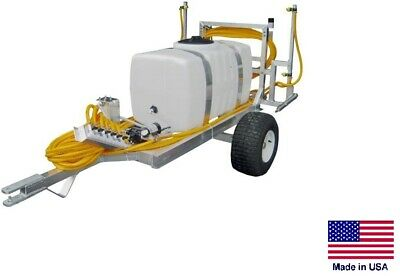 Sprayer Commercial - Trailer Mounted - 12 Volt - 8 Ft Boom - 50 Gallon Tank