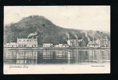 Scotland Buteshire KILCHATTAN BAY 1904 PPC by Valentine