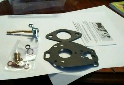 Carburetor Repair Kit Massey Ferguson F40 Mf135 Mf150 Mf50 To35free Shipping
