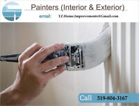 Painters and Wall paper installers required