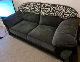 3 +2 seater upholstery fabric sofas for quick sale