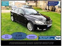 Lexus IS 220d 2.2 TD F Sport 4dr £6,695 2 KEYS,FSH,6 MONTH WARRANTY 2010 (60)