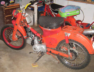 1964 Honda Ct200 , first year of the Ct