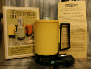 Vintage Empire 3- Cup Automatic Coffee Maker