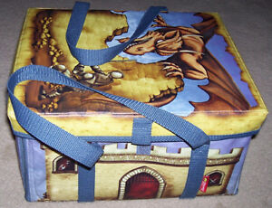 Dragon Castle Transforming Storage Box Medieval Figures and Game