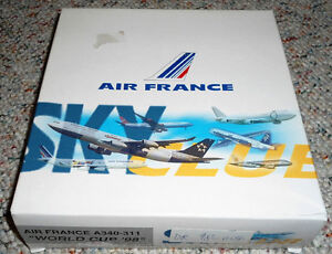 Dragon Wings 1/400 Airbus A340-300 Air France 1998 World Cup