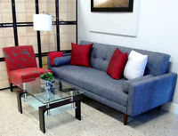 ENTIRE LIVING ROOM FURNISHED FOR ONLY $713