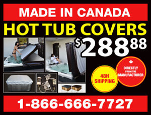 Hot Tub Covers - Made in Canada