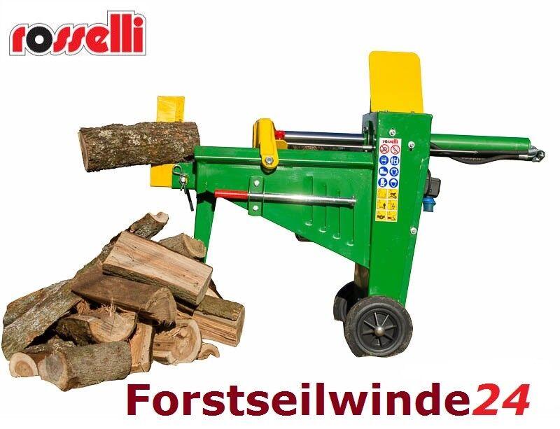 Holzspalter 8t 220 Volt Rosselli liegend waagrecht Spalter - Profi Gerät