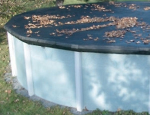 ABOVE GROUND POOL COVER 18ft-COUVERTURE DE PISCINE HORS-TERRE