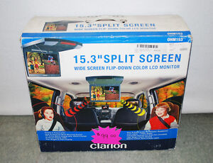 Clarion OHM102/OHM153 Car Video System